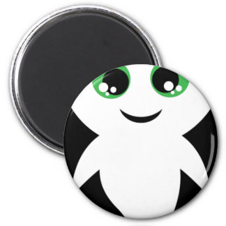 Boo the Ghost 6 Cm Round Magnet