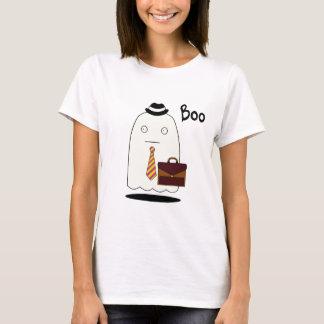 Boo The Ghost, Women's Basic T-Shirt, White T-Shirt