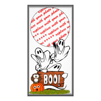 BOO to You, Too! Picture Card
