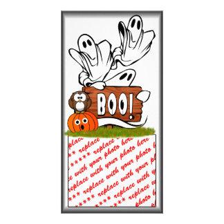 BOO to You, Too! Photo Greeting Card