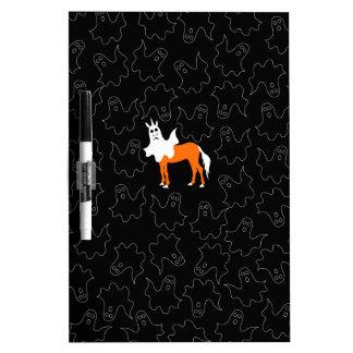 Boo Unicorn Dry Erase Boards