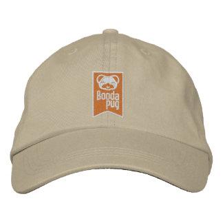 Boodapug Orange LogoMark Embroidered Cap