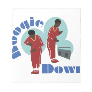 Boogie Down Boys Notepad