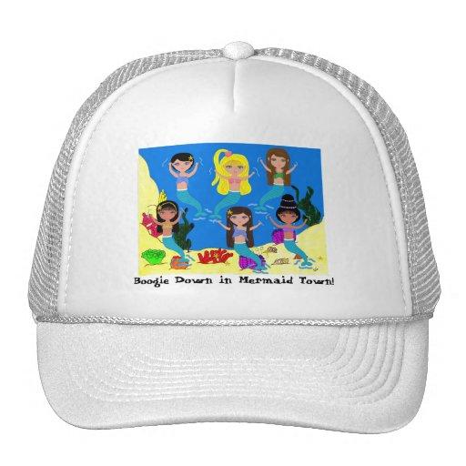 Boogie Down in Mermaid Town Ladies Cap Hat