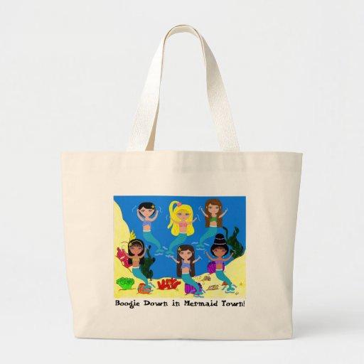 Boogie Down in Mermaid Town Tote Bag