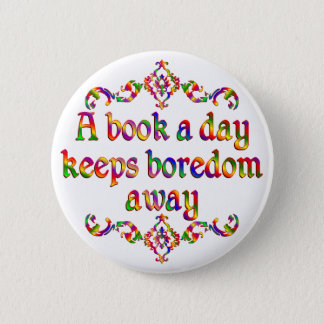 Book a Day 6 Cm Round Badge