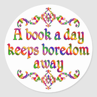 Book a Day Stickers