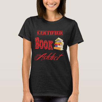 Book Addict dark T-Shirt