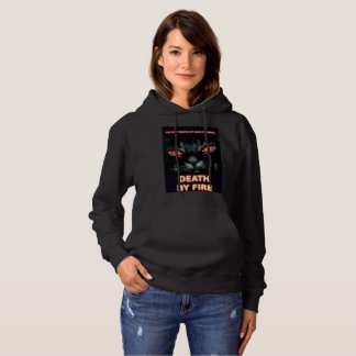 Book Art by K.D. Kromminga--Death by Fire Hoodie