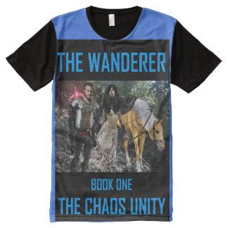Book Art by K.D. Kromminga--The Wanderer All-Over Print T-Shirt