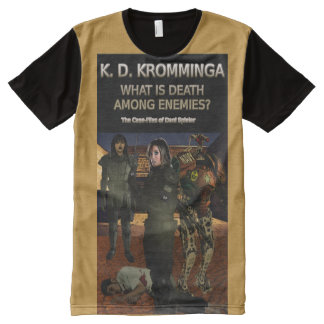Book Art by K.D. Kromminga--What is Death Among... All-Over Print T-Shirt