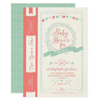Book Baby Shower Invitations - Fairy Tale Invites