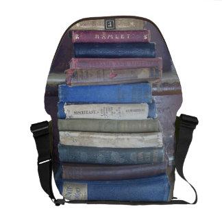 Book Back Messenger Bag