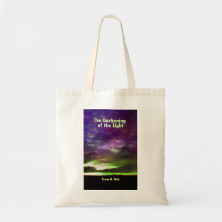 Book bag with a book cover