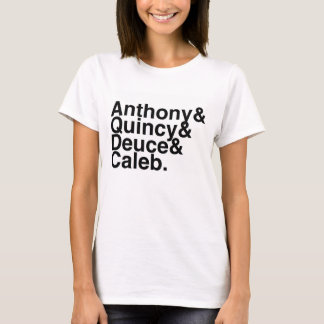 Book Boyfriend- Anthony, Quincy, Deuce, Caleb T-Shirt