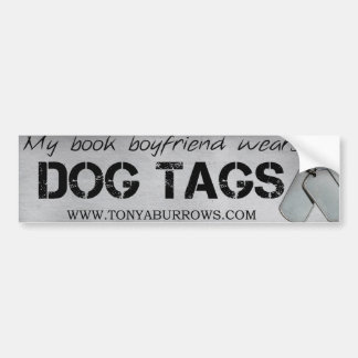 Book Boyfriend Bumper Sticker Car Bumper Sticker