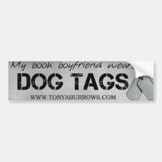Book Boyfriend Bumper Sticker