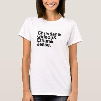 Book Boyfriend — Christian, Gideon, Ethan, Jesse T-Shirt