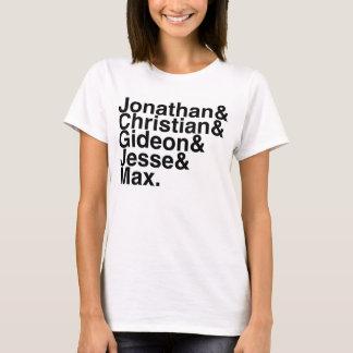 Book Boyfriend- Jonathan, Christian, Gideon, Jesse T-Shirt