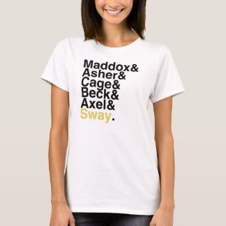 Book Boyfriend — Maddox Asher Cage Beck Axel Sway T-Shirt