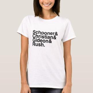 Book Boyfriend- Schooner, Christian, Gideon, Rush T-Shirt