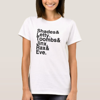 Book Boyfriends/Girlfriends- S&L, T&J, R&E T-Shirt