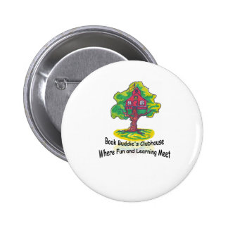 Book Buddies Outfitters Pinback Button