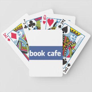book cafe card deck