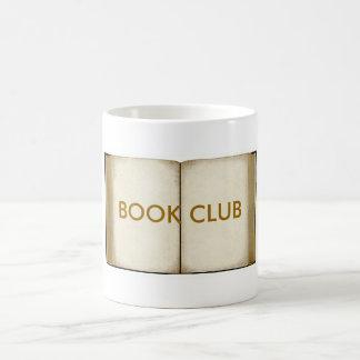 Book Club Basic White Mug