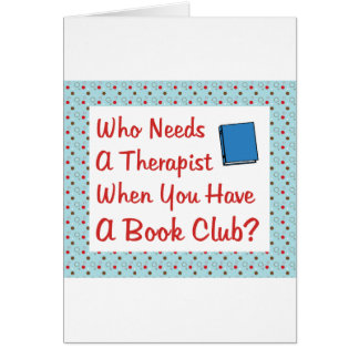 book club card