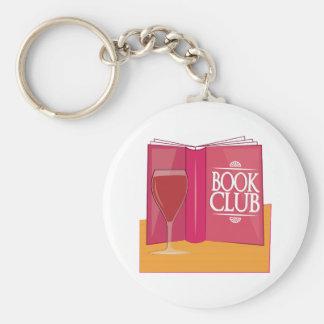 Book Club Key Ring