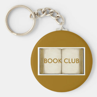 Book Club Key Ring