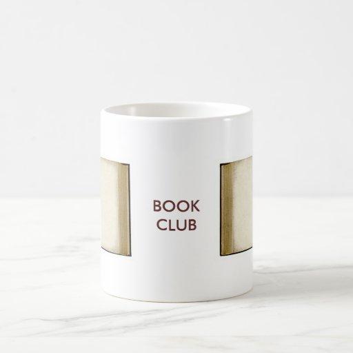 Book Club Coffee Mugs