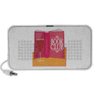 Book Club Notebook Speaker