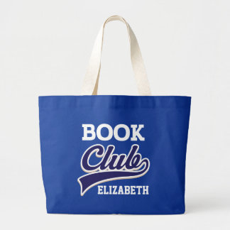 Book Club Personalised Reading Tote Bag Gift