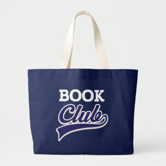 Book Club Reading Tote Bag Gift
