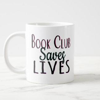 Book Club Saves Lives Jumbo Mug