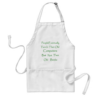 Book Collector Adult Apron