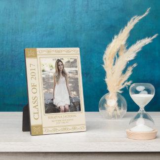 Book Cover Editable Colour Graduate Photo Plaque