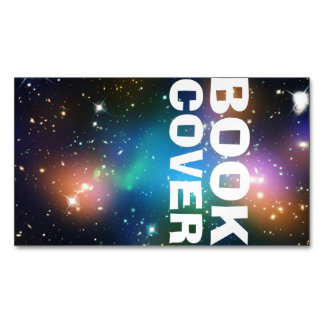Book Cover Magnetic Business Card