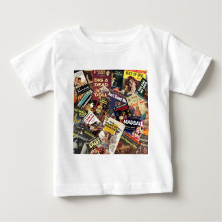 Book Cover Montage Baby T-Shirt
