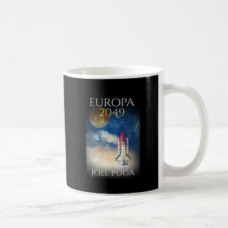 "Book Cover of ""Europa 2049"" by Joel Puga Coffee Mug"