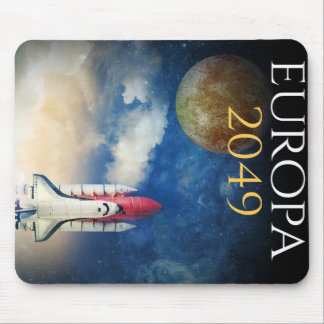 """Book Cover of """"Europa 2049"""" by Joel Puga Mouse Pad"""