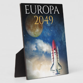 """Book Cover of """"Europa 2049"""" by Joel Puga Plaques"""