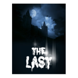 """Book cover of """"The Last"""" by Joel Puga Postcard"""
