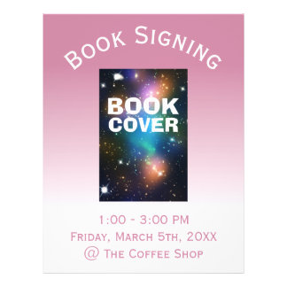 Book Cover Signing Ombre 21.5 Cm X 28 Cm Flyer