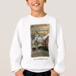 Book Cover Viking Helmet with Horns Sweatshirt