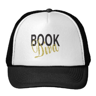Book Diva Trucker Hat