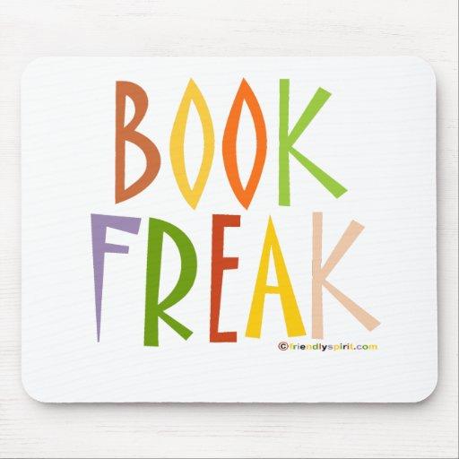 Book Freak Mouse Mats