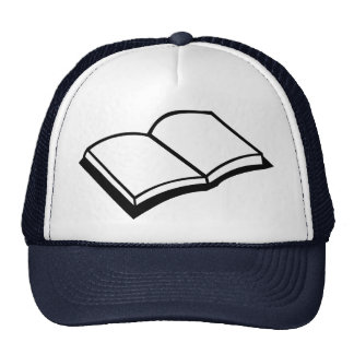 Book Mesh Hats